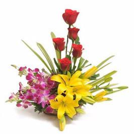 Basket Of Cheers - for Online Flower Delivery In India