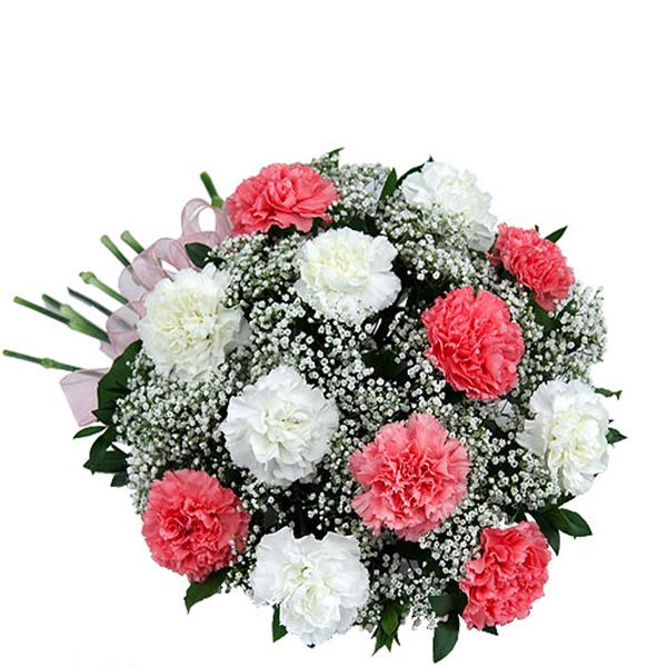 Pink And White Fantasy - for Midnight Flower Delivery in India