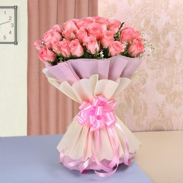 Pink Delight-Pink Surprise For You - from Best Flower Delivery in India