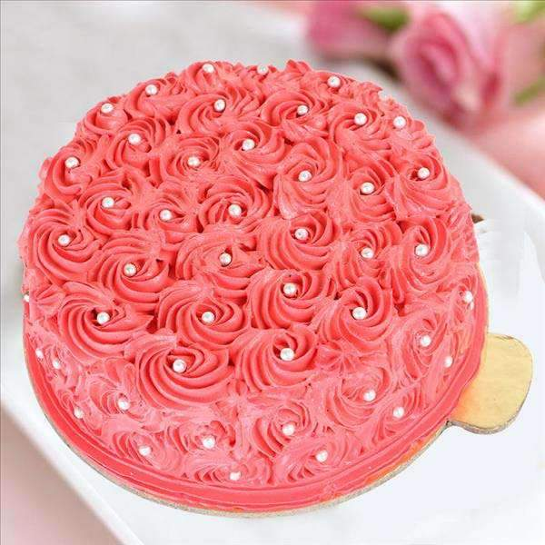 Pink Rose Vanilla - for Midnight Flower Delivery in India