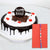 Precious Rakhi Gift- -This Rakhi gift contains: Half KG Black Forest cake  One Beautiful Rakhi