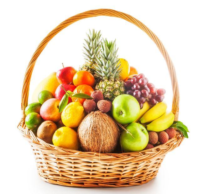 Premium Healthy Fruit Basket - for Flower Delivery in India