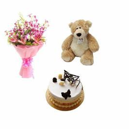 Blissful Love Combo - from Best Flower Delivery in Send Flowers And Cake To India From Canada