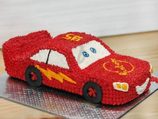 Racing Car Kids Cake - Send Flowers to India