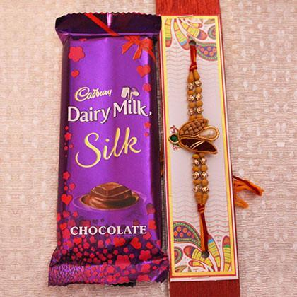 Rakhi and Dairy Milk Silk