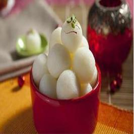 Rasgulla Sweets One KG - for Midnight Flower Delivery in India