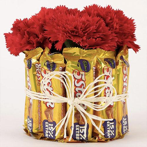 Red Choco Carnival - for Flower Delivery in India
