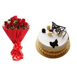 Lovely Passion Combo - Send Flowers to India