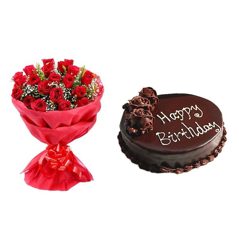 The Precious One combo - for Midnight Flower Delivery in Gifts Online