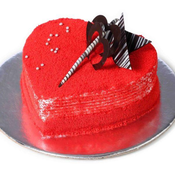Rich Red Velvet Premium - for Flower Delivery in India