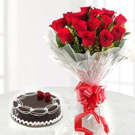 Roses n Cakes - for Flower Delivery in India