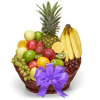 Send Fruit Basket To India - for Online Flower Delivery In India