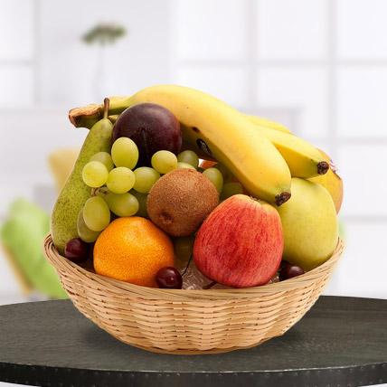 Small Fruit Basket - for Flower Delivery in India
