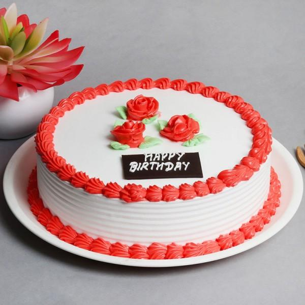 Strawberry Birthday Cake - from Best Flower Delivery in India