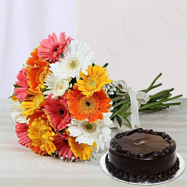 Sunrise Truffle Treat - for Online Flower Delivery In India
