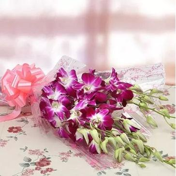 Surprise With Orchids - for Online Flower Delivery In Delhi