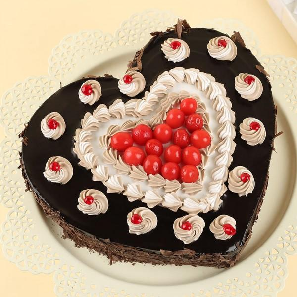 Sweet Cherry Heart Love - for Flower Delivery in India