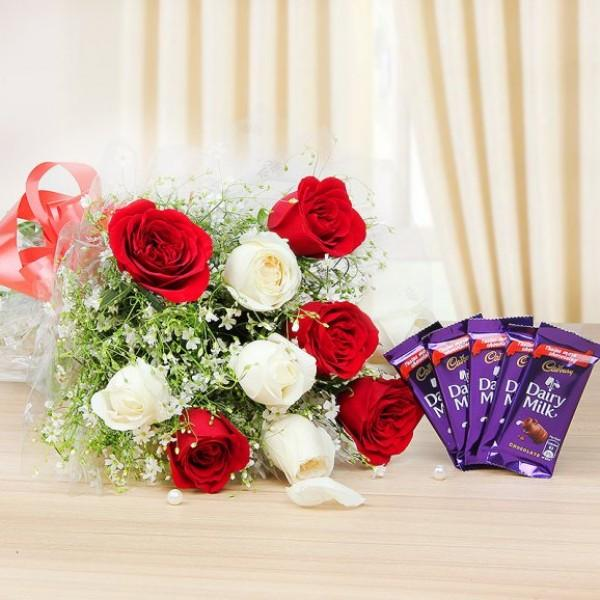 Sweet Gift Combo - for Online Flower Delivery In India