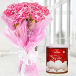 Sweet n Pink combo - for Flower Delivery in India