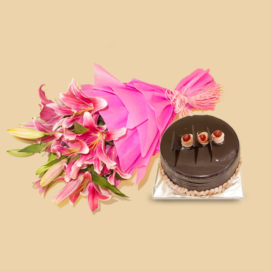 Tempting Combo - from Best Flower Delivery in India