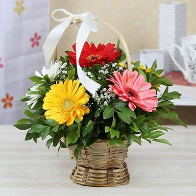 Thank You Basket - for Online Flower Delivery In India