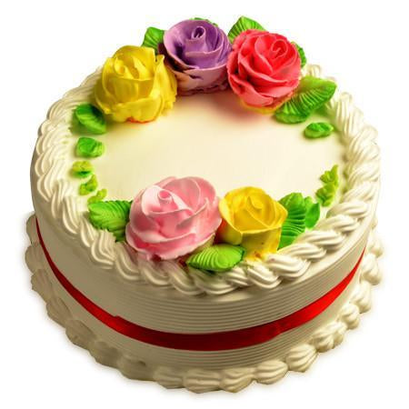 Vanilla Cake - for Midnight Flower Delivery in India