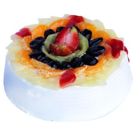 Vanilla Fruit Cake - for Flower Delivery in India