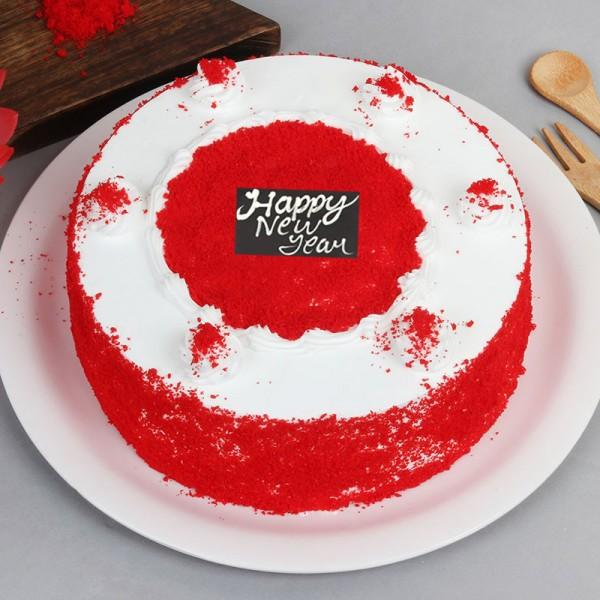 Velvety New Year Celebration - for Flower Delivery in Category | Cakes | New Year Cakes