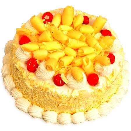 White Forest Cake - for Midnight Flower Delivery in India