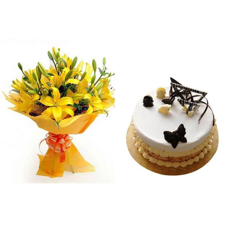 Magical Lily Combo - for Flower Delivery in India