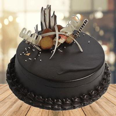 Yummilicious Chocolate Cake - for Midnight Flower Delivery in Category Cakes Anniversary Cakes