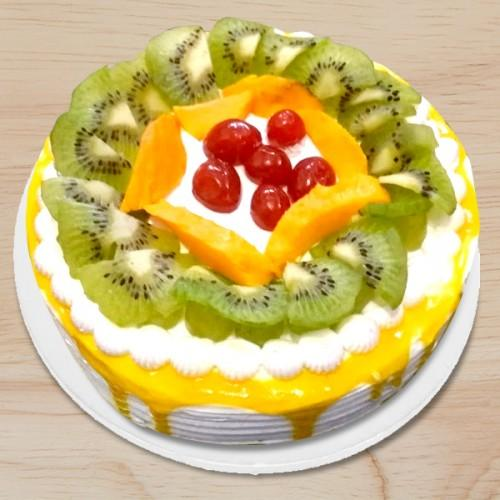 Yummy Fruit Fantasy - from Best Flower Delivery in Category Cakes Anniversary Cakes