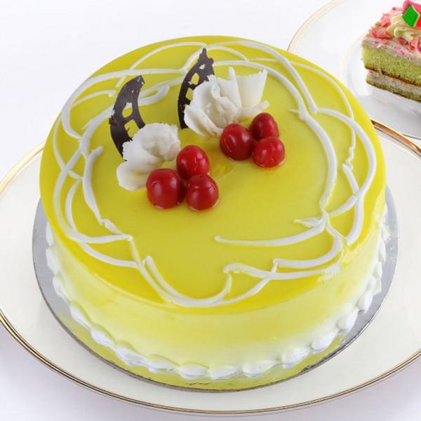 Yummy Pineapple Birthday Cake - from Best Flower Delivery in Category Cakes Birthday Cakes