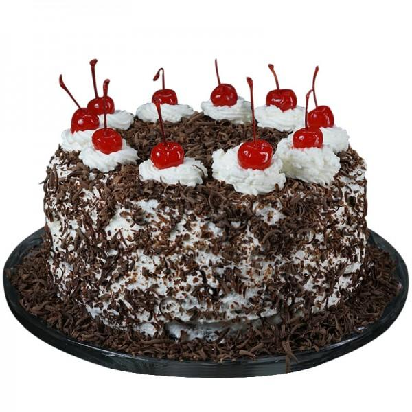 Zestful-Choco-Cherry-Forest - for Midnight Flower Delivery in Category | Cakes | Cakes Below Rs 500