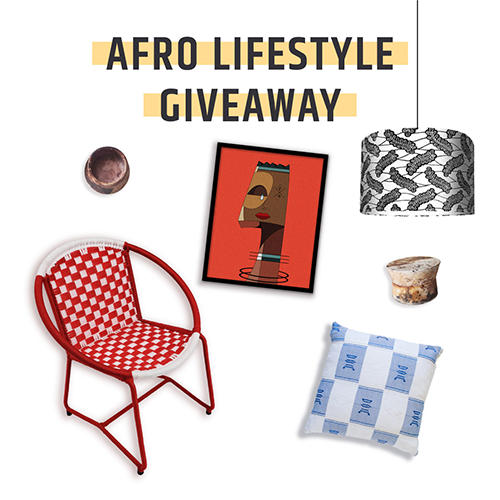 Afro-lifestyle Giveaway: a contest you don't want to miss!