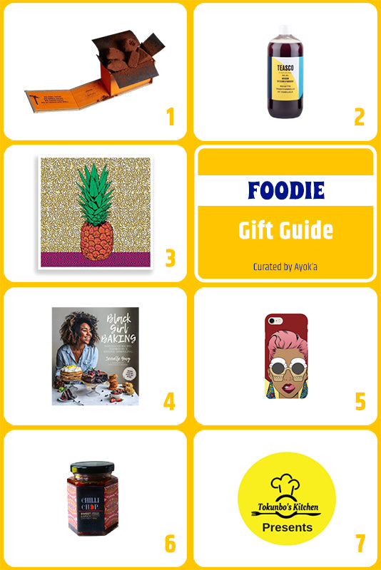 Foodie gift guide curated by Ayok'a