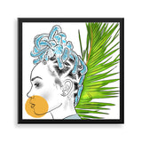 untitled 3 framed print by african artist neema