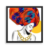 untitled 6 framed print by african artist neema