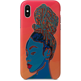 9 visions iPhoneX case by african ilustrator artista amarela