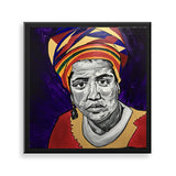 Audre Lorde framed art print by Pauline NGouala