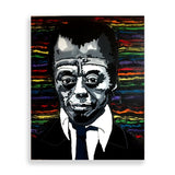 james baldwin art print by french artist pauline n'gouala