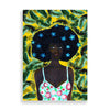 banana hues art print by black-british artist rahana banana