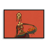 beauty and pride framed print by nigerian artist TEDA