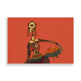 beauty and pride art print by nigerian artist teda