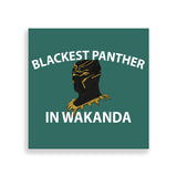 blackest panther by black-british parys gardener