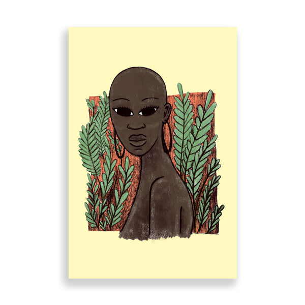 bold art print by south-african artist thulisizwe mamba