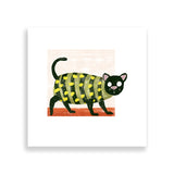 cat-a-pillar art print by south-african artist thulisizwe mamba