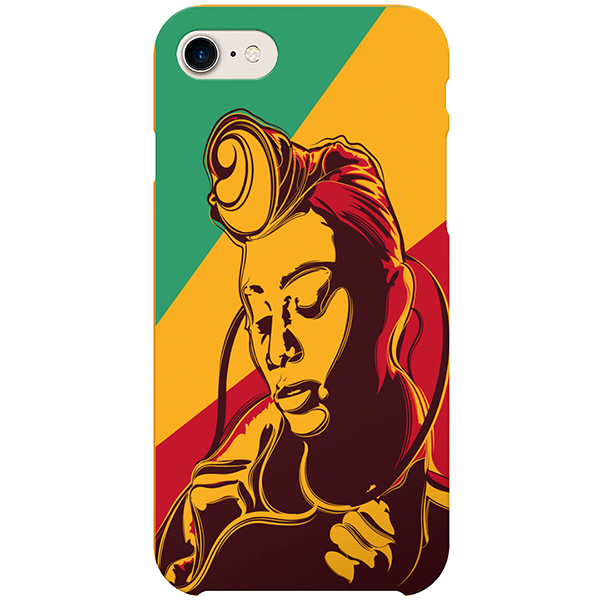 Colourful Pride iPhone case by African artist Emmanuel Mdlalose
