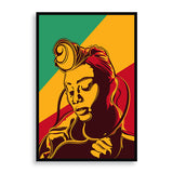 Colourful Pride framed print by south-african artist emmanuel mdlalose