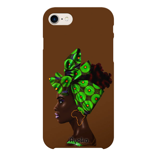 Green Headwrap Samsung case by Kaizeea